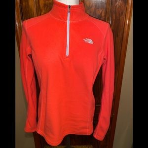 The North Face Coral 1/4 Zip Soft Fleece M